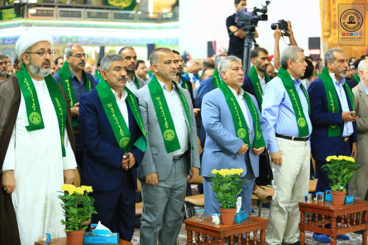Alkufa Grand mosque attends Launching of 8th Algahdeer  Annual Festival held by Holy Shrine of Imam Ali