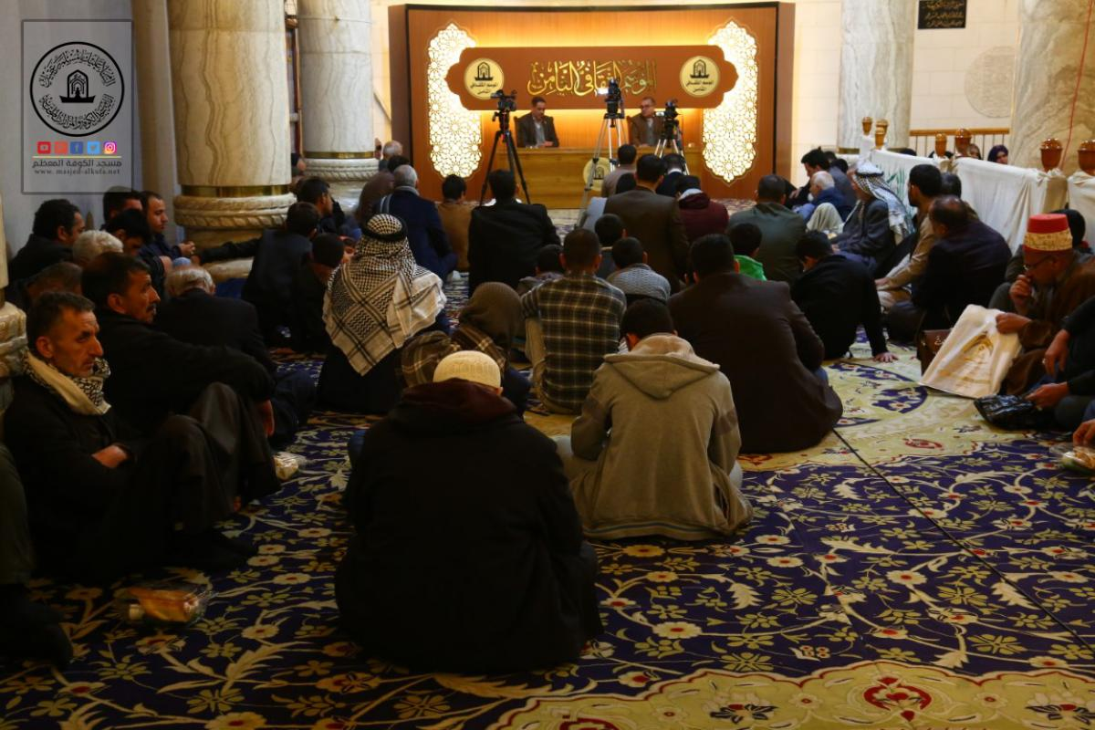 In pictures Lecture on Human Rights in Islam delivered within continuing 8th Cultural Season