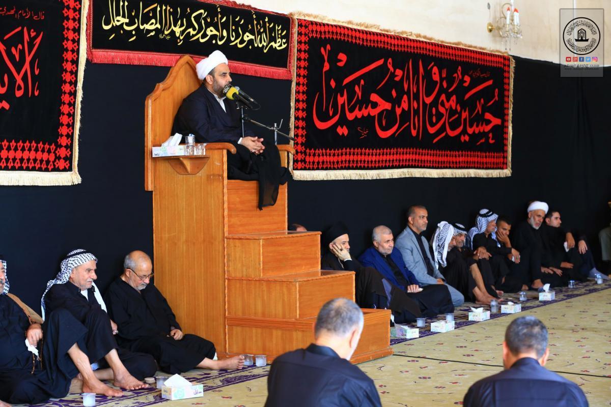 Alkufa Grand Mosque Secretariat Commemorates Ataf Battle by holding memorial service