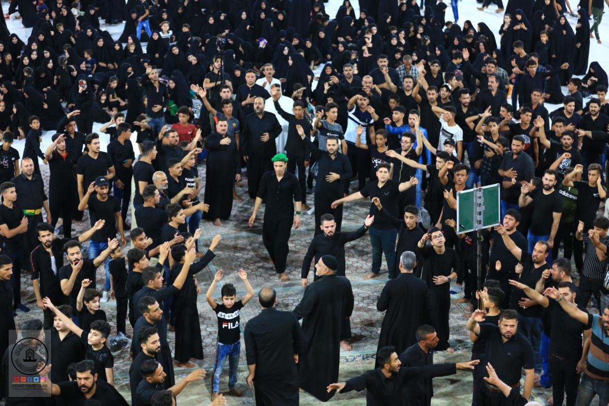 In pictures : Alkufa Procession mourns Moslem Bin Aqeel ( AS) on occasion of Imam Hussein's ( AS) Martyrdom
