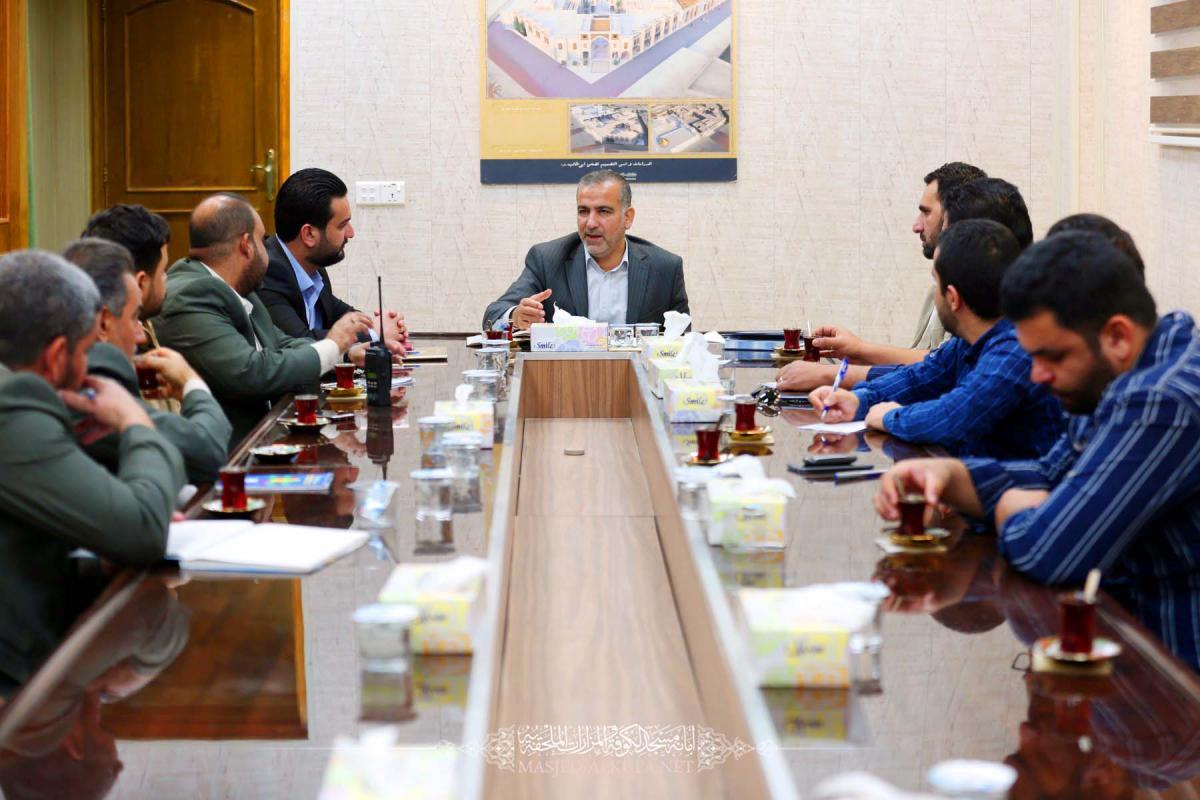 Secretary –General  meets  cadre of Media Department