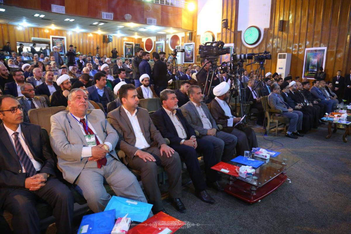 Alkufa Grand Mosque Secretary-General attends Launching of  18th Scientific Conference held by  Kufa Studies Center