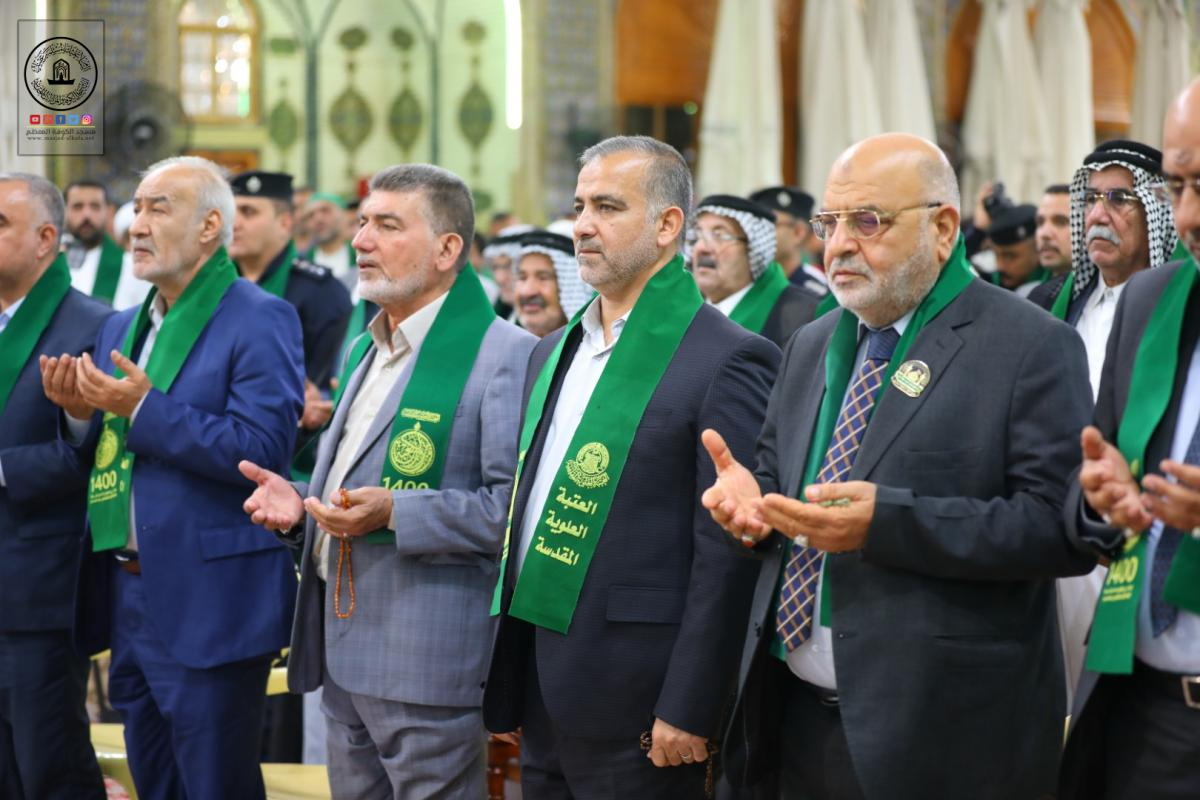 Secretary- General of Alkufa Grand Mosque attends commemoration of passing 14 centuries of  Imam Ali's (AS) martyrdom held by Holy Shrine of Imam Ali (AS)