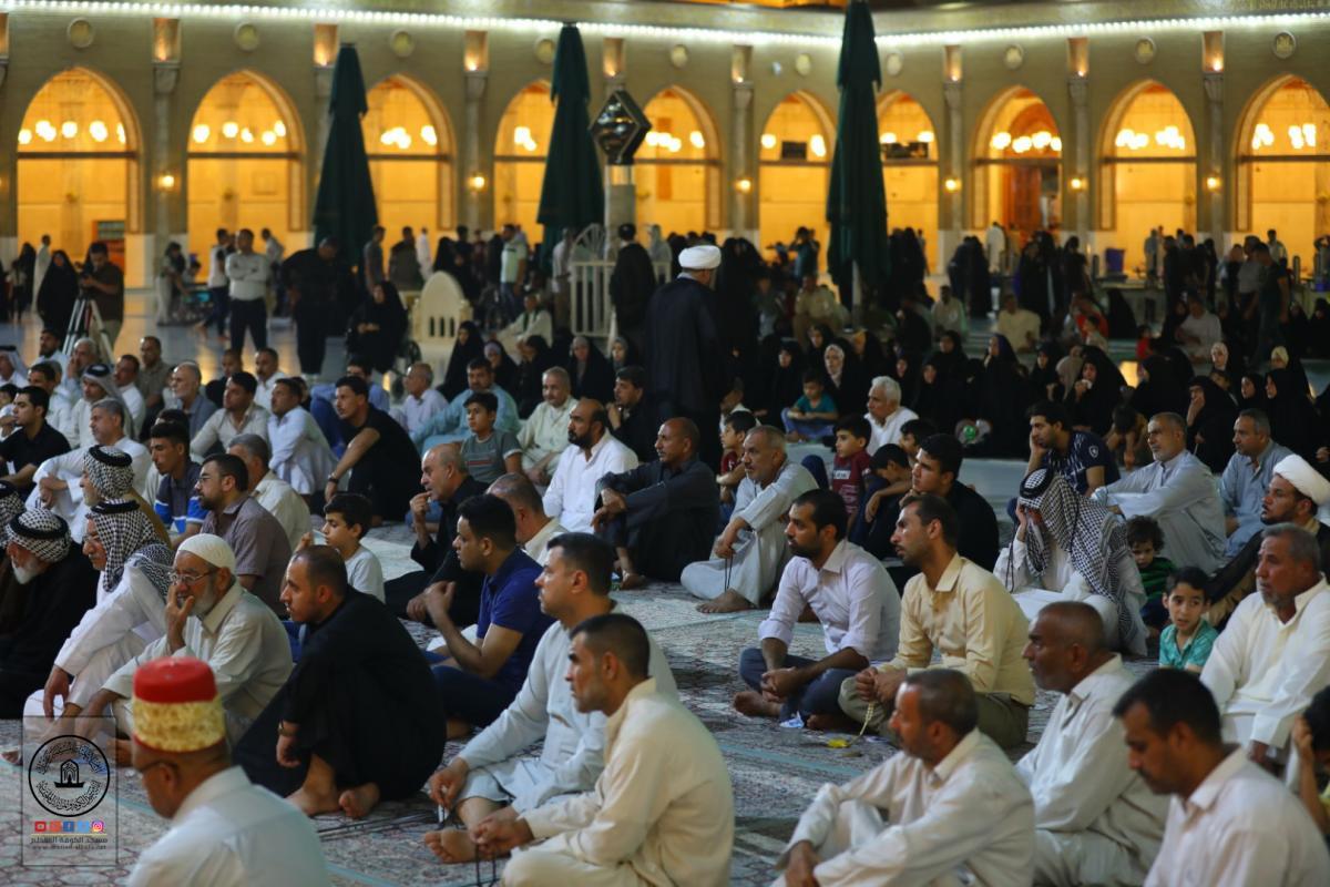 Holding Condolence Session to commemorate Imam's Asadiq Martyrdom by Alkufa Grand Mosque Secretariat