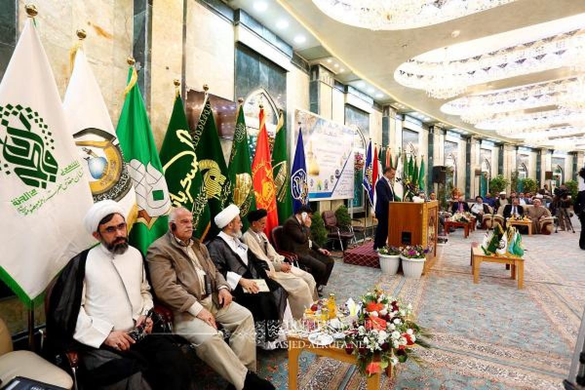 Alkufa Grand Mosque Secretariat participates in activities of 2nd Conference of Holy Shrines Conclusion