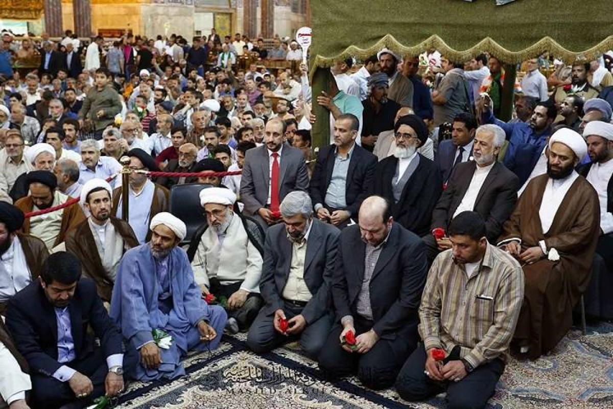 Alkufa Grand Mosque Secretariat Attends Prophetic Emitting Celebration