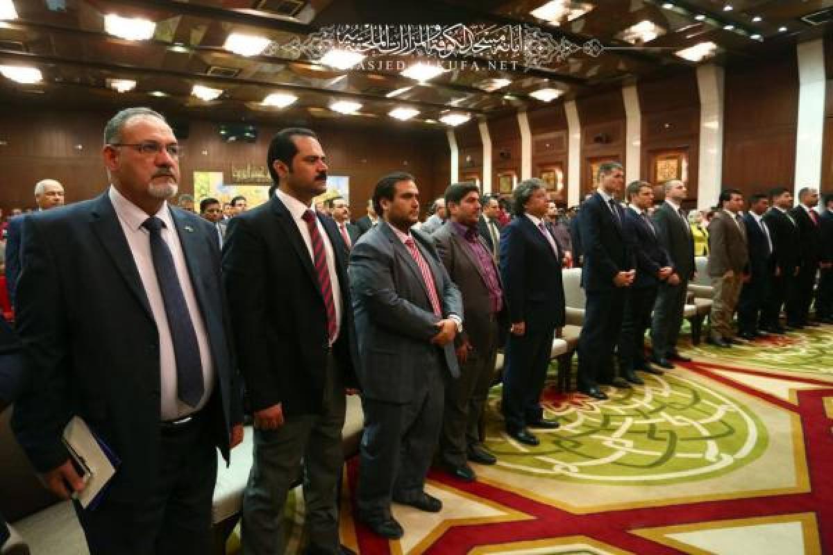 Media of Alkufa attends  Ceremony of Arabic Media Day in Baghdad