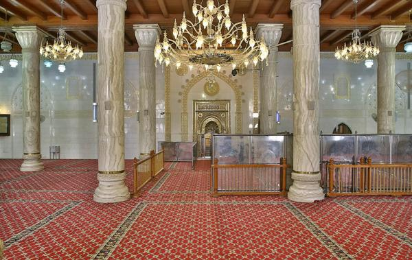 Imam Ali (PBUH) starting from the Kufa Mosque