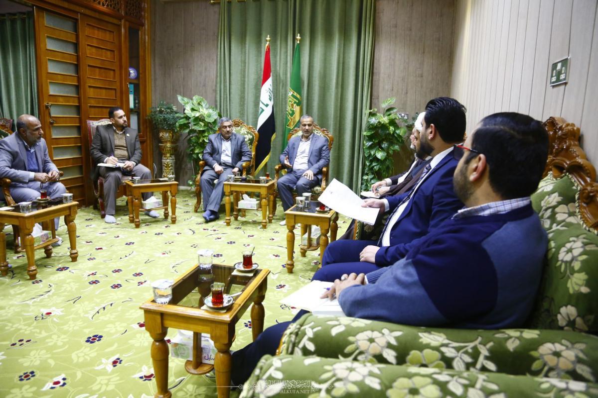 Alkufa Grand Mosque Secretariat discusses arrangements  of 6th Quranic National Contest for Students of Universities