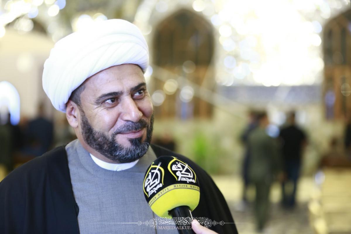 ALkufa Grand Mosque Secretariat prepares for commemorating Alqassim Bin Mosa ALkadhim obituary  (AS)