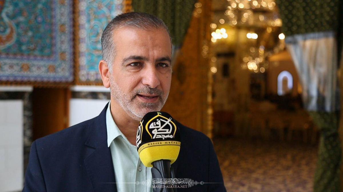 Alkufa Grand Mosque Secretary- General from Geneva : The Human Rights at Imam Ali (AS) is an open way which will returns the societies to their humanity
