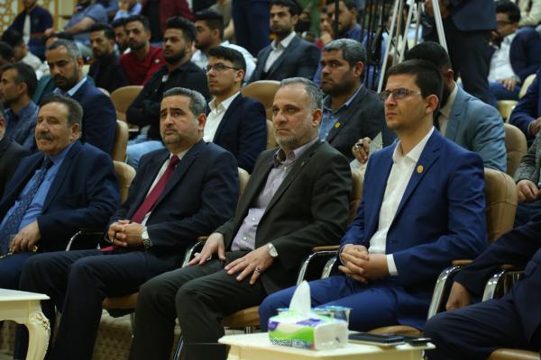 الأسبوع الثقافي الثالث في الجامعة الإسلامية يختتم فعالياته بتكريم وفد امانة مسجد الكوفة المعظم