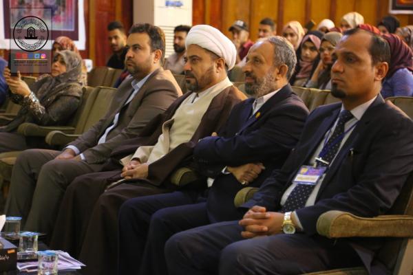 برعاية أمانة مسجد الكوفة تختتم جامعة الكوفة أسبوعها الثقافي العاشر