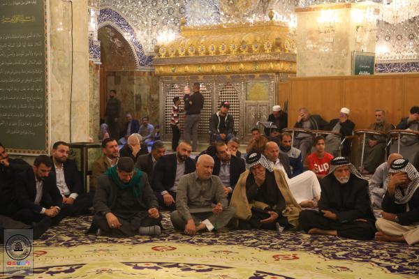 بالصور .. من مصلَّى الصحابي هانئ بن عروة (رضوان الله عليه) أمانة مسجد الكوفة المعظم تقيم المحاضرة الأسبوعية الإرشادية