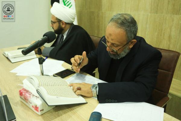 حضور متميز لأمانة مسجد الكوفة في المسابقة القرآنية السنوية الثالثة التي تقيمها الجامعة الإسلامية