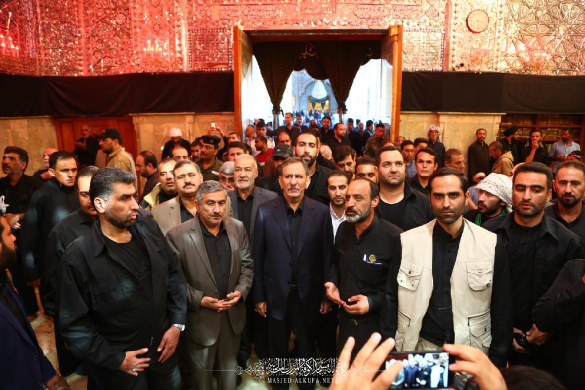 الجمهورية الإسلامية تشكر امانة مسجد الكوفة المعظم لتقدميها الخدمات للزائرين