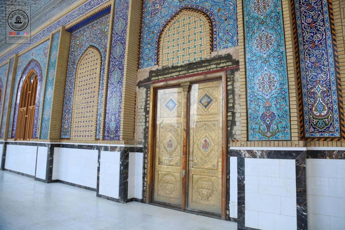 لسهولة دخول وخروج الزائرين .. امانة مسجد الكوفة تفتح ابواب جديدة لحضرة مسلم بن عقيل (عليه السلام)