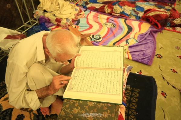 أمانة مسجد الكوفة تستقبل الراغبين بأداء شعيرة الاعتكاف في العشرة الأخيرة من شهر رمضان المبارك