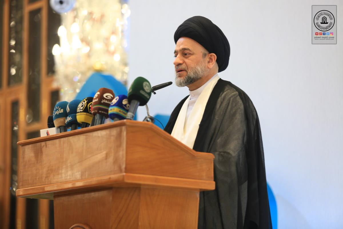 في مهرجان السفير الثقافي التاسع رئيس ديوان الوقف الشيعي: استذكار سيرة أمير المؤمنين (ع) لا بد ان يتبعها عمل صالح