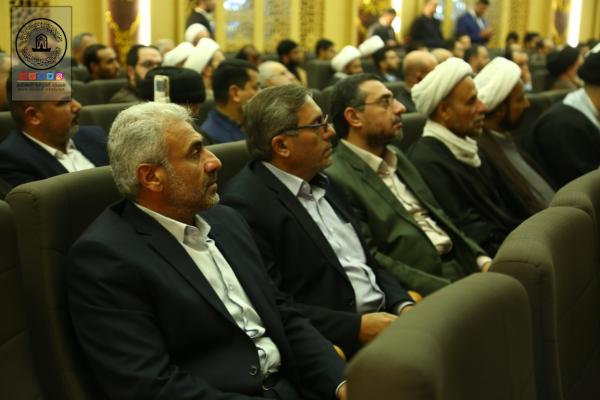 مهرجان الإمام الباقر (عليه السلام) الثقافي الخامس في العتبة العباسية المقدسة ينطلق بحضور وفد أمانة مسجد الكوفة المعظَّم