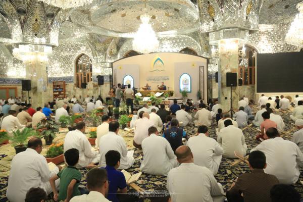 الختمة القرآنية الرمضانية في يومها الثامن عشر في مصلى مسلم بن عقيل (عليه السلام)