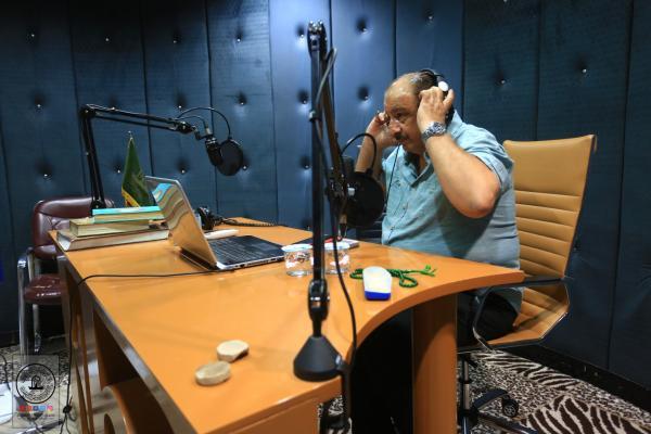 إذاعة سفير الحسين (عليهما السلام) تستعد لتغطية احتفالات عيد الغدير بمشاركة الإعلامي علاء محسن