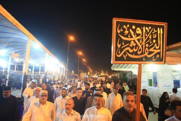 موكب النجف الأشرف يعزي أمانة مسجد الكوفة بذكرى شهادة الصحابي ميثم التمار (رضوان الله عليه)