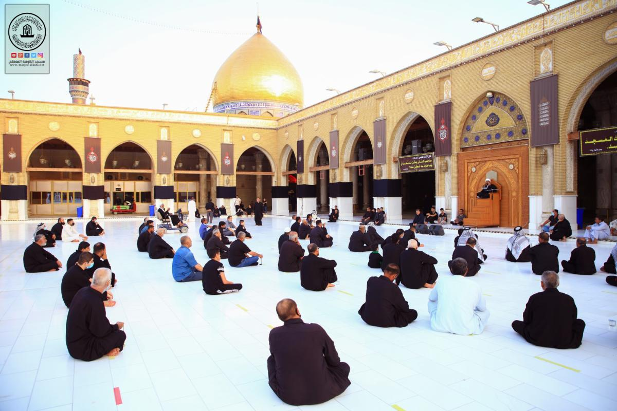 بذكرى شهادة الإمام الحسن المجتبى (عليه السلام) .. أمانة مسجد الكوفة تقيم مجلس العزاء السنوي