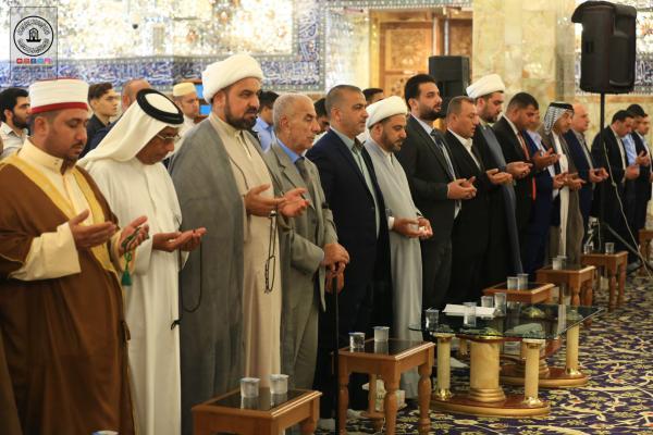 انطلاق مسابقة الغدير الوطنية الثانية للأذان في مسجد الكوفة المعظم