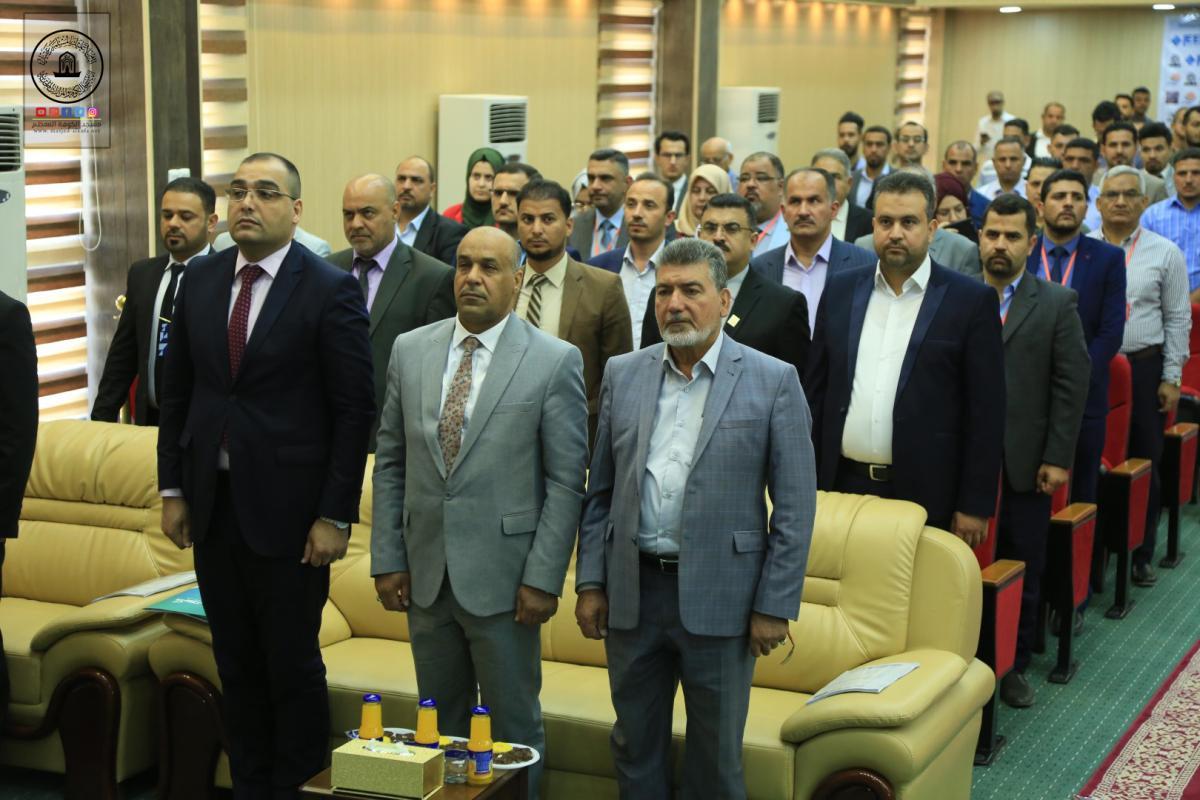 جامعة الفرات الأوسط تعقد مؤتمرها العلمي الدولي الثالث بحضور وفد امانة مسجد الكوفة المعظم