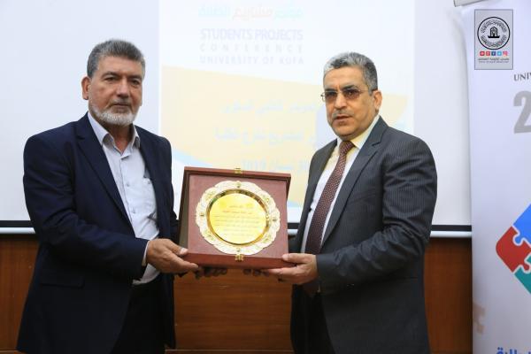 جامعة الكوفة تثَّمن جهود امانة مسجد الكوفة المعظم في دعمها لإنجاح المؤتمر الدولي للهندسة المدنية والبيئية