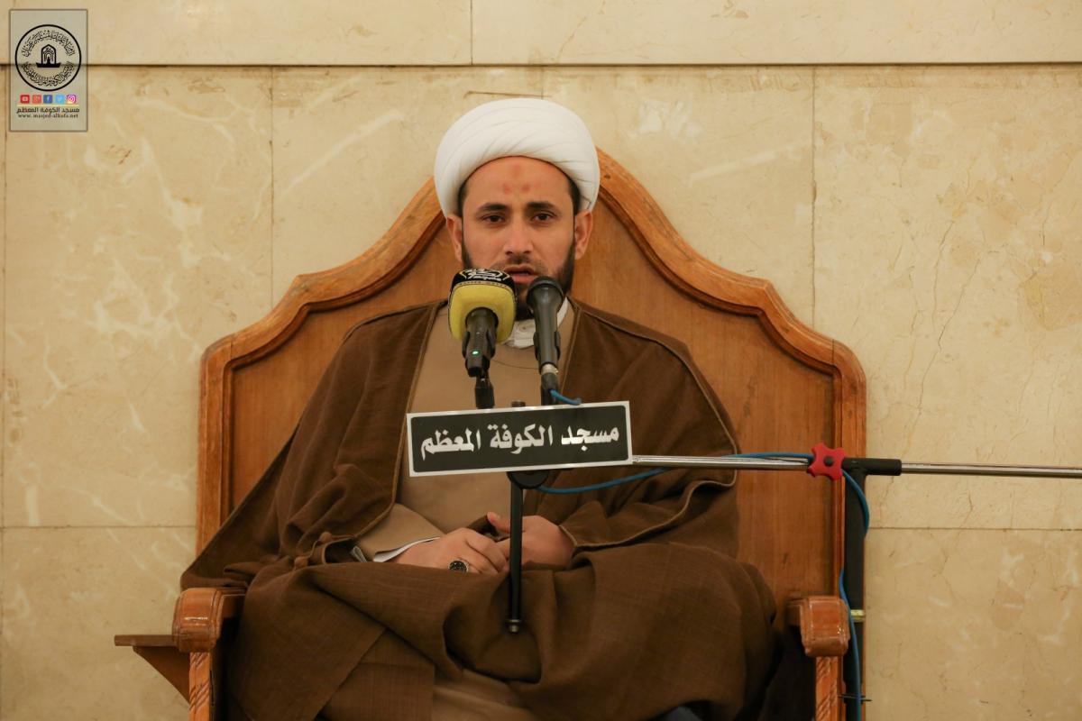 مع الالتزام بالضوابط الصحية الشؤون الدينية تقيم مجلس العزاء الأسبوعي في مسجد الكوفة المعظم