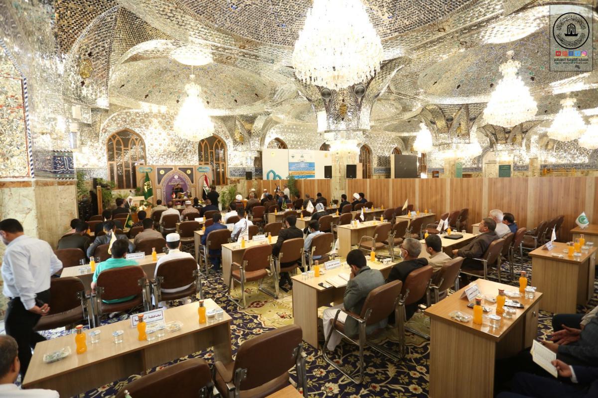 الفترة الصباحية لليوم الثاني من المسابقة القرآنية الوطنية التاسعة للحفظ والتلاوة في مسجد الكوفة المعظَّم