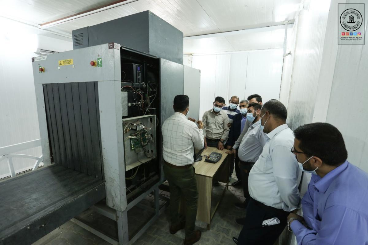 اختتام دورة كشف المتفجرات بالأجهزة الحديثة في أمانة مسجد الكوفة بالتعاون مع شرطة النجف الأشرف