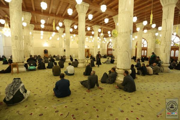 لليوم الثانـي امانة مسجد الكوفة المعظم تقيم مجلس العزاء السنوي بذكرى شهادة الزهراء (عليها السلام)
