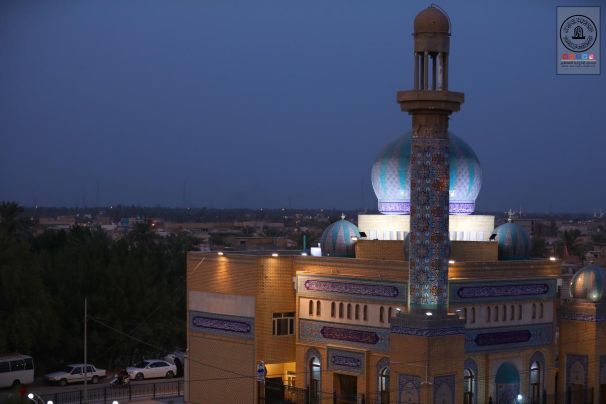 امانة مسجد الكوفة تحيي ذكرى شهادة الصحابي زيد بن صوحان (رضوان الله عليه)