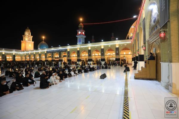بذكرى شهادة الرسول الاكرم (صلى الله عليه وآله وسلم) .. أمانة مسجد الكوفة المعظم تقيم مجلس العزاء المركزي