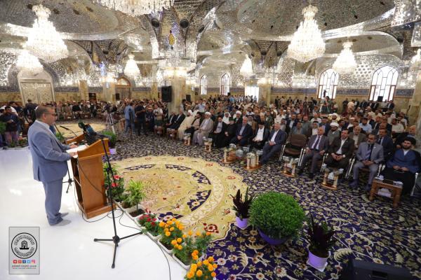 فعاليات مهرجان السفير الثقافي التاسع من قاعة مصلى مسلم بن عقيل (عليه السلام)