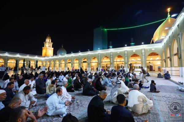 أمانة مسجد الكوفة المعظم تواصل تقديم المحاضرات الاسبوعية التوعوية والإرشادية للمؤمنين