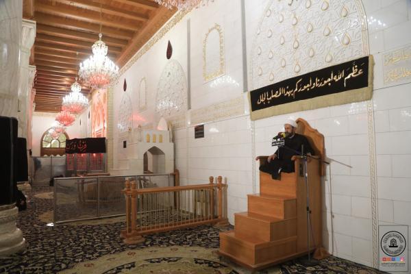 بذكرى شهادة مولى الموحدين (عليه السلام) .. أمانة مسجد الكوفة تقيم مجلس العزاء السنوي