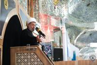 احياء ذكرى شهادة هانئ بن عروة (رض) في مسجد الكوفة المعظم