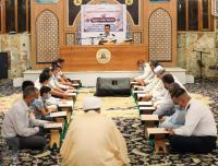 الجلسة القرآنية لمديرية مرور النجف الأشرف في مسجد الكوفة المعظم