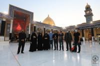 وفد طبي بريطاني يتشرف بزيارة مسجد الكوفة المعظم