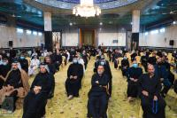 المؤمنون يحيون ذكرى شهادة الإمام الحسن المجتبى (عليه السلام) في مسجد الحمراء بالتعاون مع امانة مسجد الكوفة المعظم