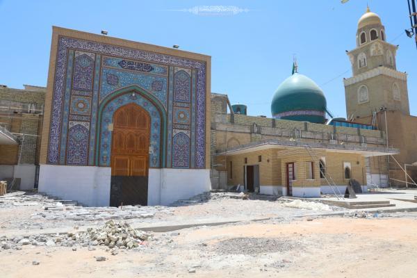 الاستمرار بمشروع انشاء قاطع تفتيش باب المراد لصحن مسلم بن عقيل (عليه السلام)