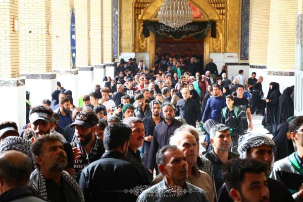 مع الالتزام بالإرشادات الصحية امانة مسجد الكوفة تكمل استعداداتها لاستقبال زوار الأربعين