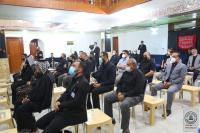 وفد أمانة مسجد الكوفة المعظم يشارك في المؤتمر السنوي الثالث عشر لمركز ارشاد التائهين من زوار اربعينية الإمام الحسين (عليه السلام)