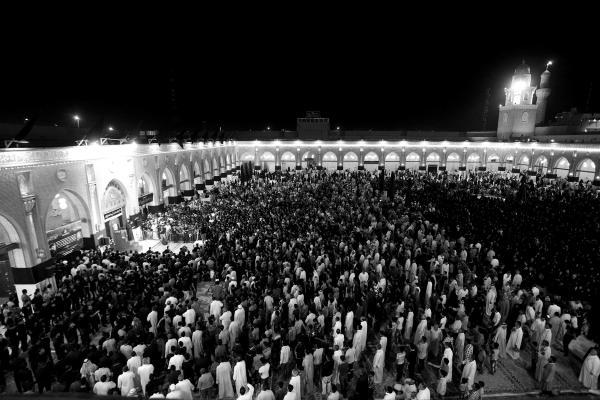 مسجد الكوفة ليالي الإستشهاد من الاعلى