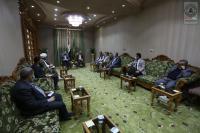 أمين مسجد الكوفة يناقش مع رؤساء الأقسام الاستعدادات لإقامة فعاليات رمضان المبارك