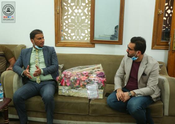 هيئة الإعلام والاتصالات تبارك لإذاعة سفير الحسين (ع) إيقاد شمعتها التاسعة